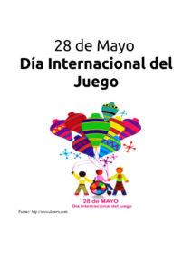 Cartel del Día Mundial del Juego