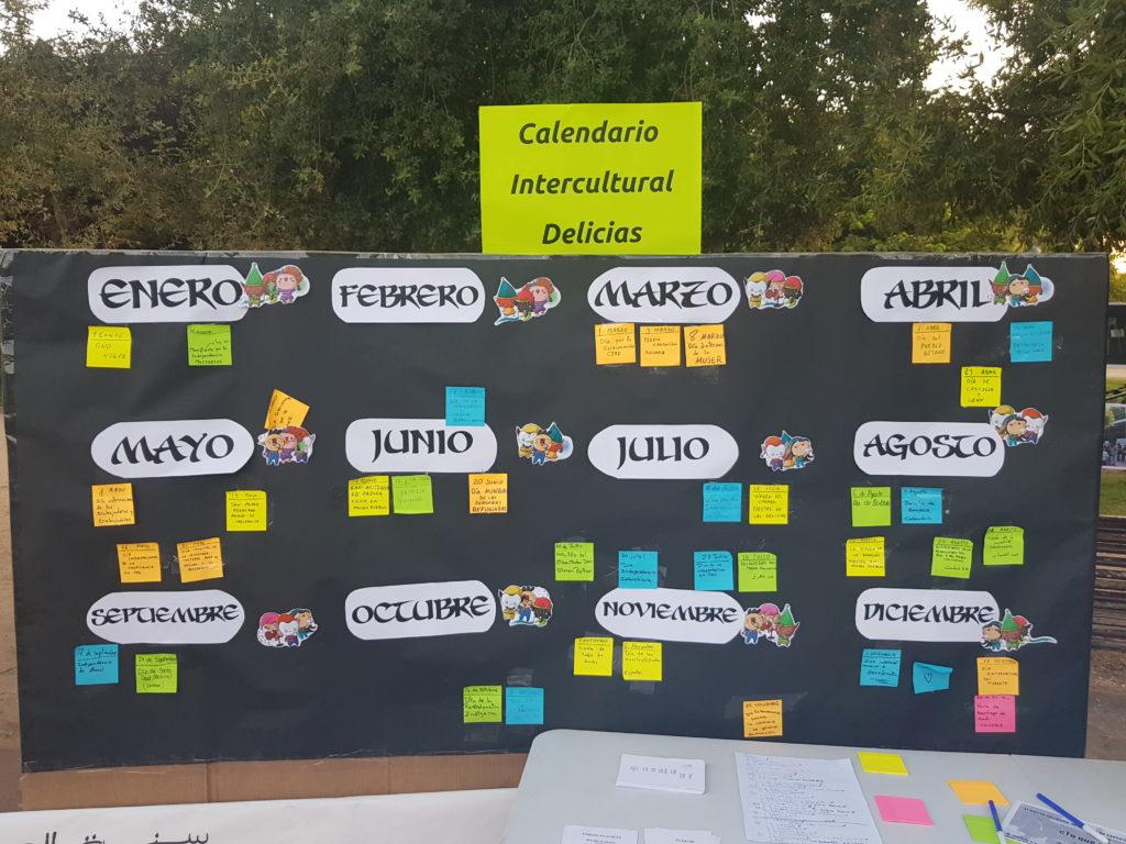 Imagen del calendario intercultural Delicias