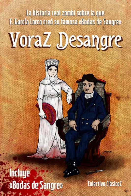 """Imagen de la portada del libro """"Voraz Desangre"""""""